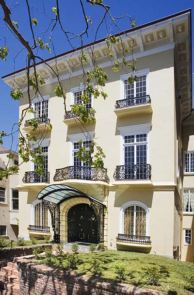 Magnificent Italianate Mansion - San Francisco